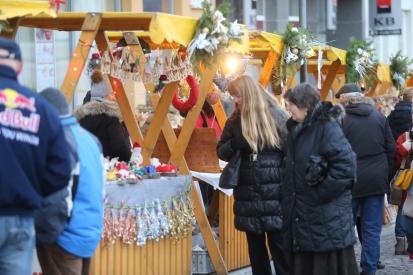 Adventní trhy a doprovodný program na náměstí T. G. Masaryka
