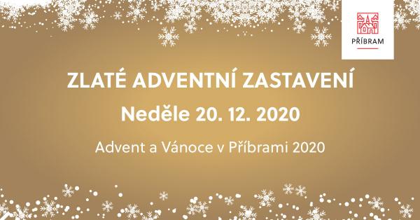 Zlatá adventní neděle 20. prosince