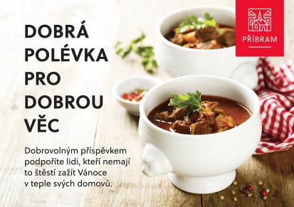 Dobrá polévka pro dobrou věc